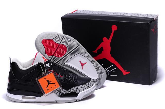 Michael Jordan 4 Captain America Athletic Shoes For Sale - Mens-#52144-360