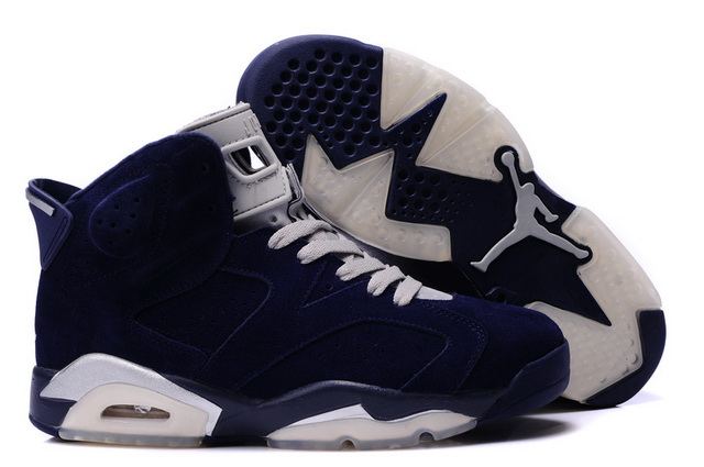 jordan 6 retro white and blue